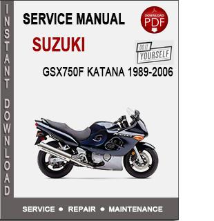 Suzuki GSX750F Katana 1989-2006