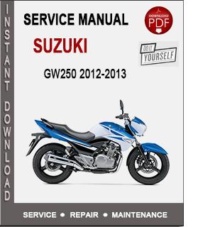 Suzuki GW250 2012-2013