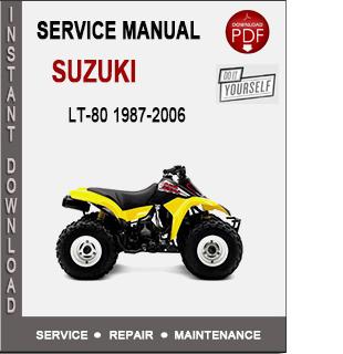 Suzuki LT-80 1987-2006