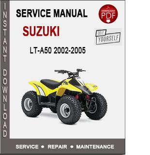 Suzuki LT-A50 2002-2005
