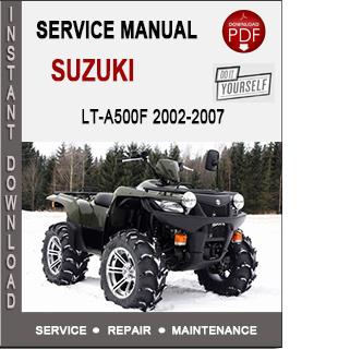 Suzuki LT-A500F 2002-2007