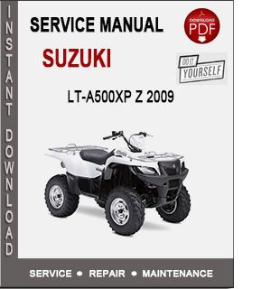 Suzuki LT-A500XP Z 2009