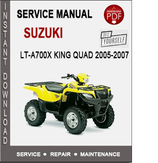Suzuki LT-A700X King Quad 2005-2007