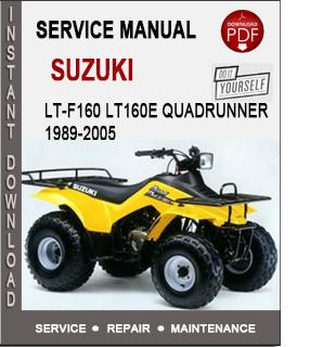 Suzuki LT-F160 LT160E QuadRunner 1989-2005