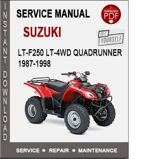 Suzuki LT-F250 LT-4WD QuadRunner 1987-1998