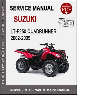 Suzuki LT-F250 QuadRunner 2002-2009