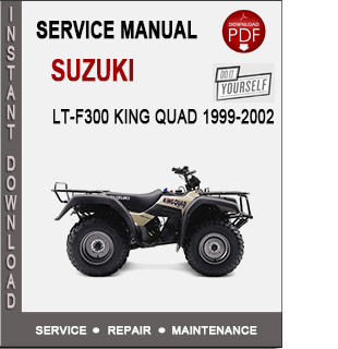 Suzuki LT-F300 King Quad 1999-2002