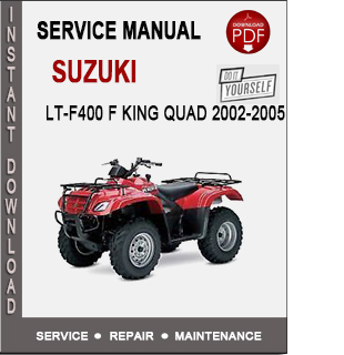 Suzuki LT-F400 F King Quad 2002-2005