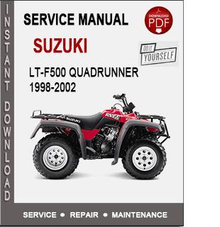 Suzuki LT-F500 QuadRunner 1998-2002