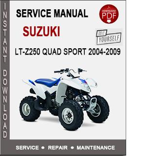 Suzuki LT-Z250 Quad Sport 2004-2009
