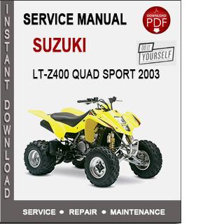 Suzuki LT-Z400 Quad Sport 2003