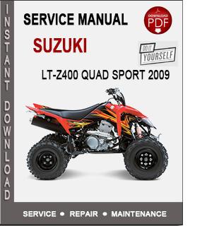 Suzuki LT-Z400 Quad Sport 2009