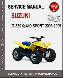 Suzuki LT-Z50 Quad Sport 2006-2009