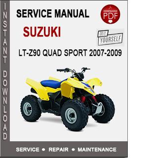 Suzuki LT-Z90 Quad Sport 2007-2009