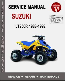 Suzuki LT250R 1988-1992