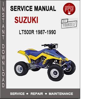 Suzuki LT500R 1987-1990