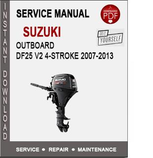 Suzuki Outboard DF25 V2 4-Stroke 2007-2013