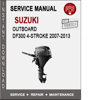 Suzuki Outboard DF300 4-Stroke 2007-2013