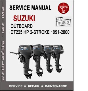 Suzuki Outboard DT225 HP 2-Stroke 1991-2000