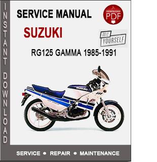 Suzuki RG125 Gamma 1985-1991