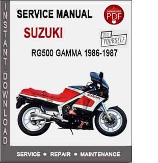 Suzuki RG500 Gamma 1986-1987