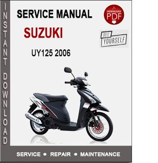 Suzuki UY125 2006