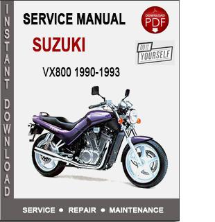 Suzuki VX800 1990-1993